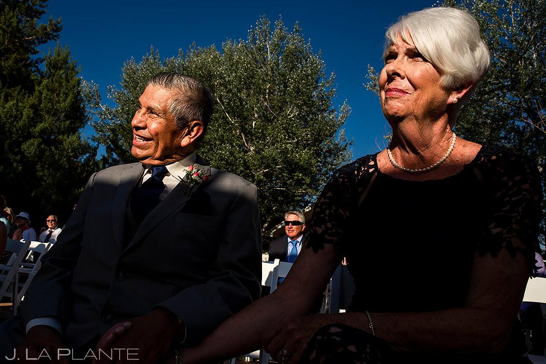 Parents of the Bride | Lafayette Colorado Wedding | Boulder Wedding Photographer | J. La Plante Photo