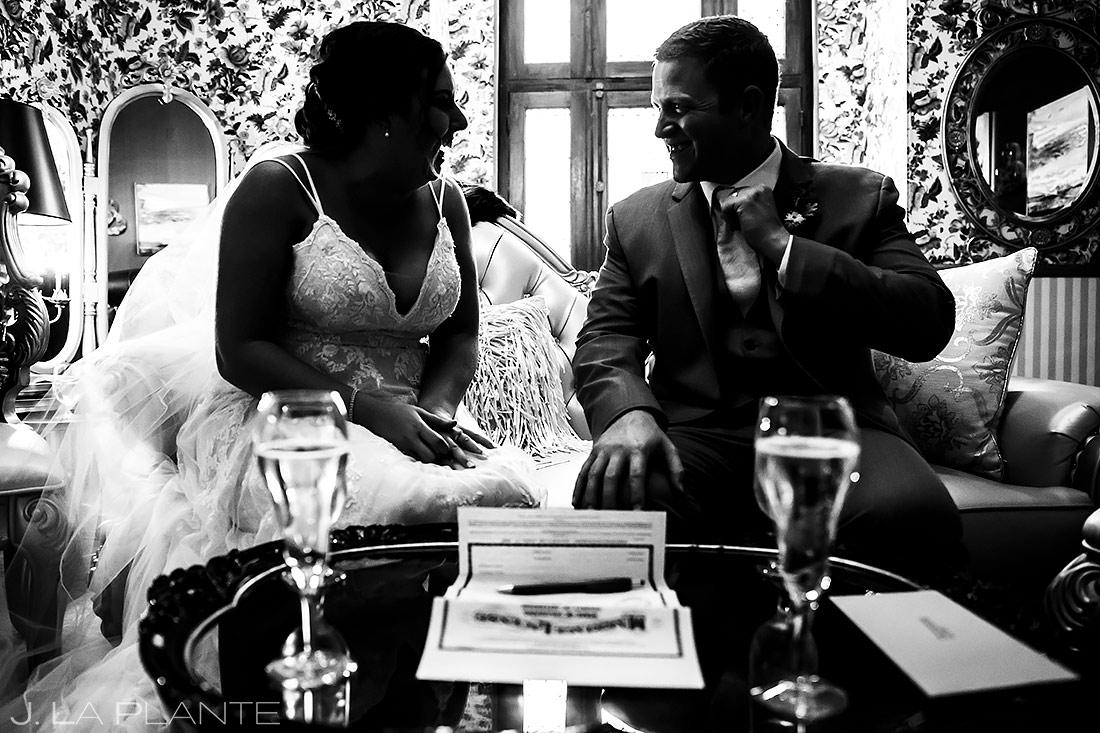 Signing the Marriage License | Lionsgate Event Center Wedding | Boulder Wedding Photographer | J. La Plante Photo