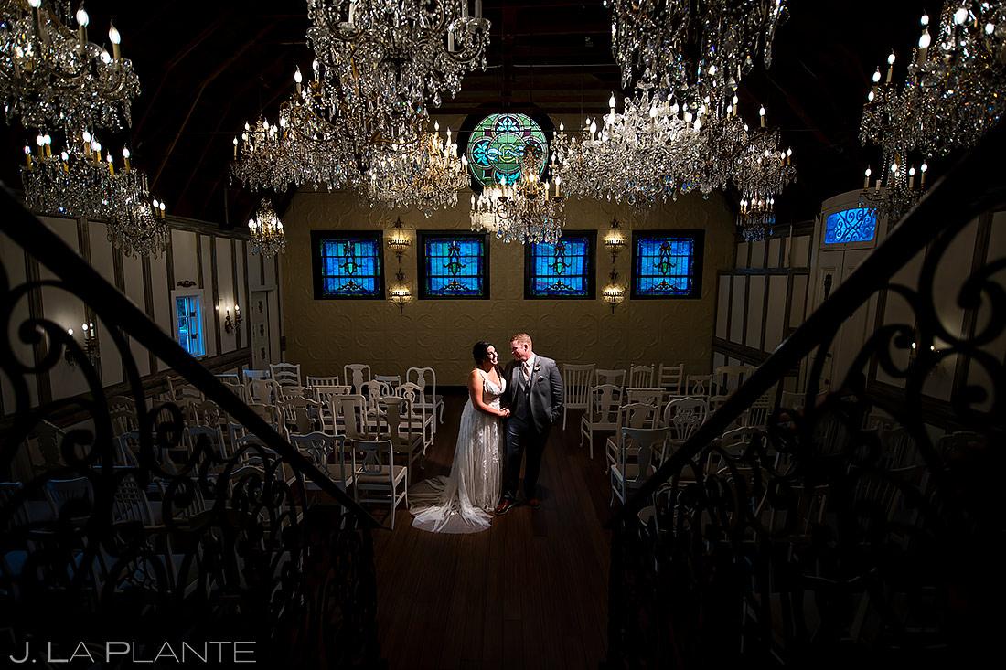 Bride and Groom Portrait | Lionsgate Event Center Wedding | Boulder Wedding Photographer | J. La Plante Photo