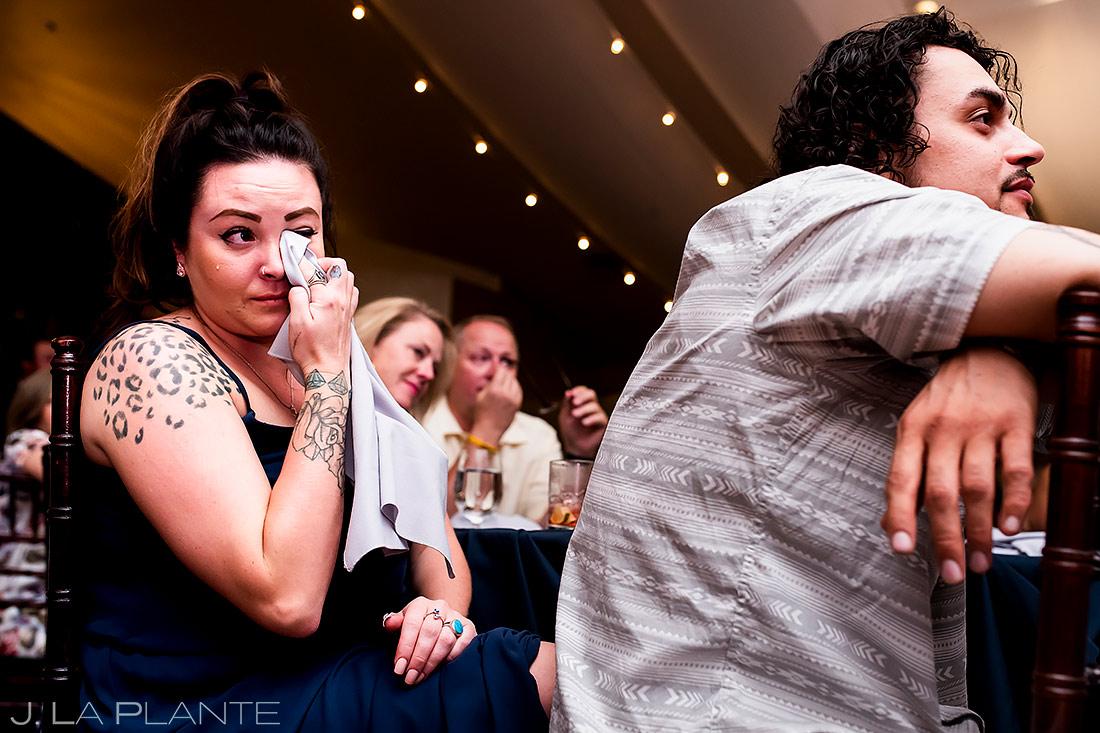 Maid of Honor Toast | Lafayette Colorado Wedding | Boulder Wedding Photographer | J. La Plante Photo