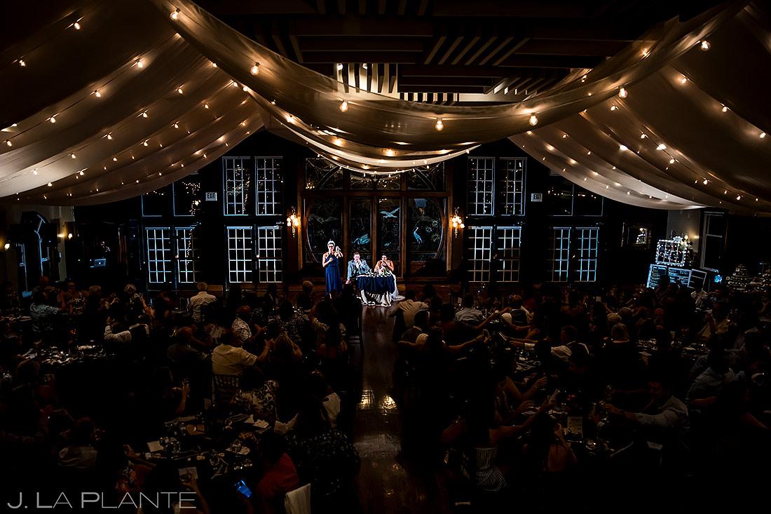 Maid of Honor Toast | Lionsgate Event Center Wedding | Boulder Wedding Photographer | J. La Plante Photo