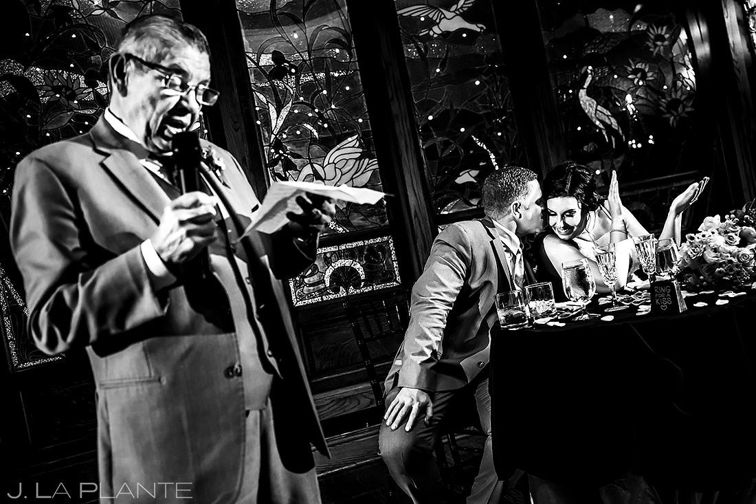 Father of the Bride Speech | Lionsgate Event Center Wedding | Boulder Wedding Photographer | J. La Plante Photo