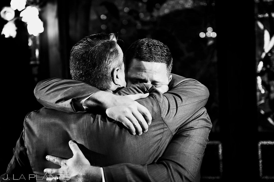 Father of the Groom Speech | Lionsgate Event Center Wedding | Boulder Wedding Photographer | J. La Plante Photo