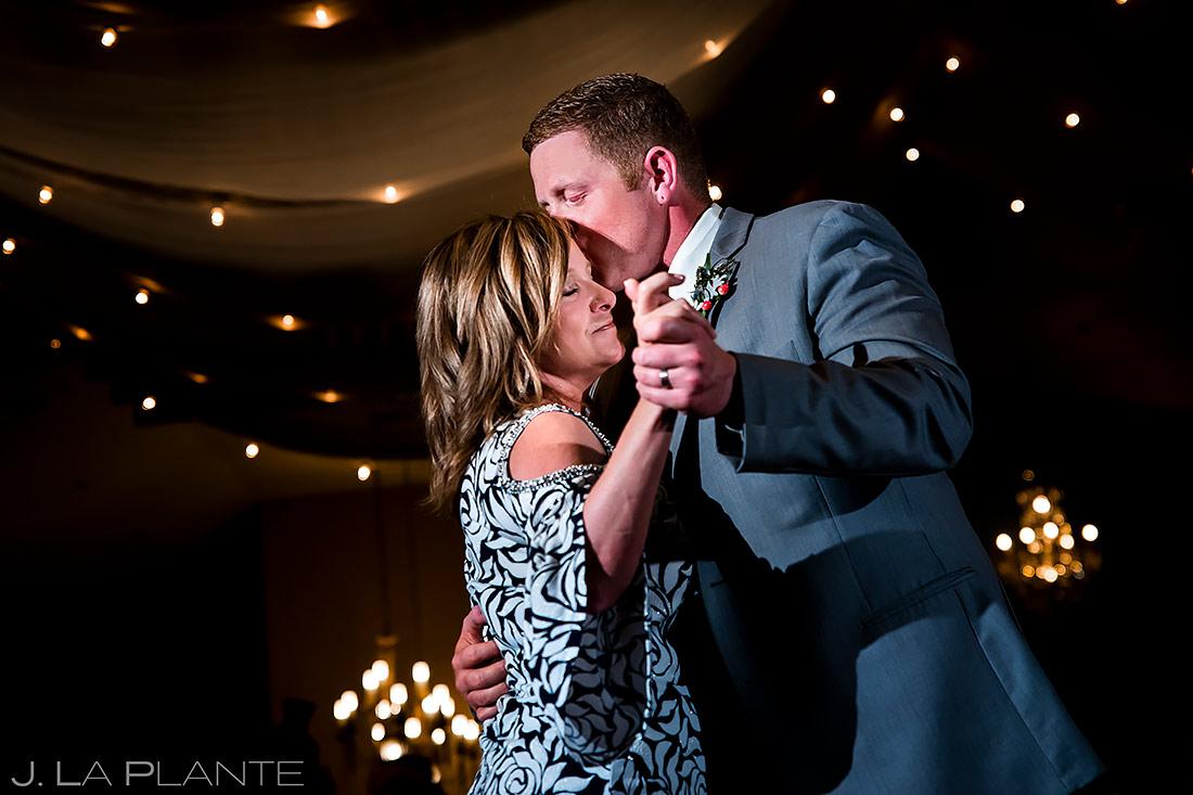 Mother Son Dance | Lionsgate Event Center Wedding | Boulder Wedding Photographer | J. La Plante Photo