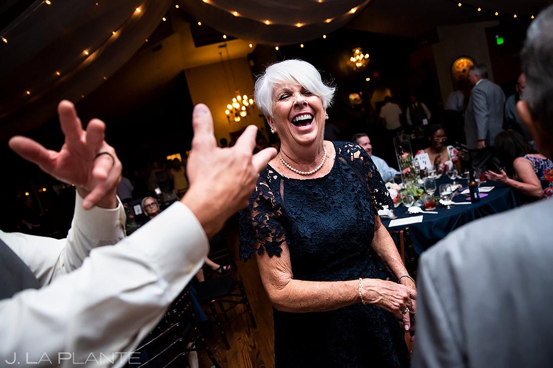 Mother of the Bride Dancing | Lionsgate Event Center Wedding | Boulder Wedding Photographer | J. La Plante Photo