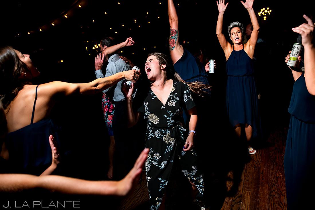 Wedding Reception Dance Party | Lionsgate Event Center Wedding | Boulder Wedding Photographer | J. La Plante Photo
