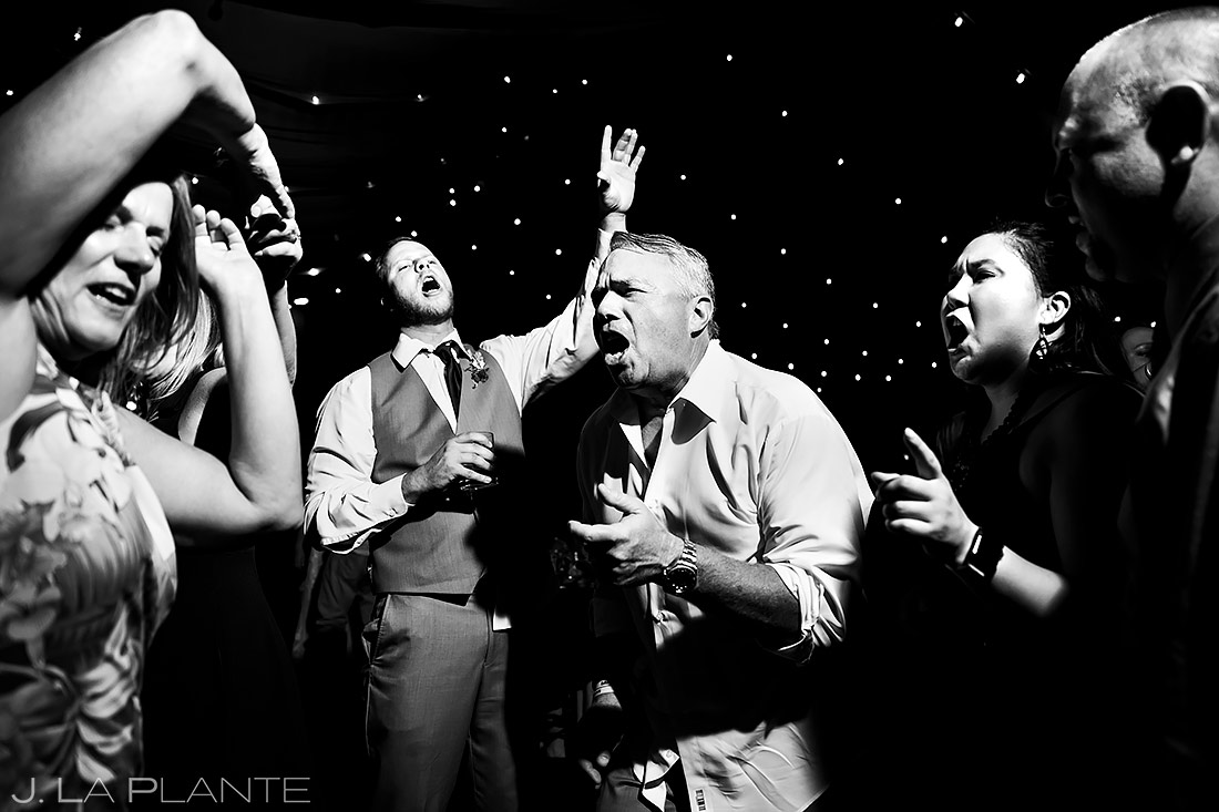 Wedding Reception Dance Party | Lafayette Colorado Wedding | Boulder Wedding Photographer | J. La Plante Photo