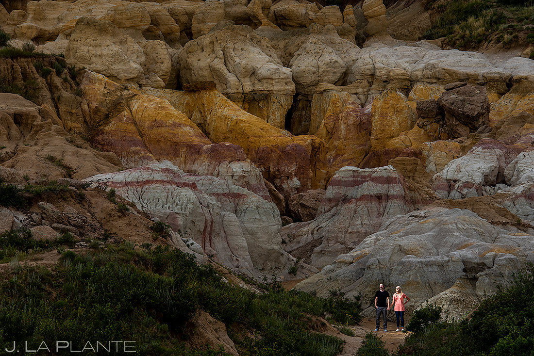 Unique Engagement Photo Ideas | Colorado Engagement Session | Colorado Springs Wedding Photographers | J. La Plante Photo