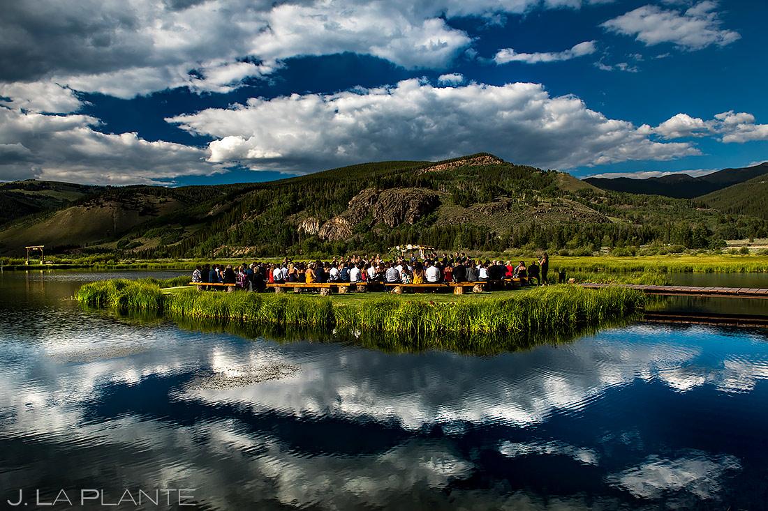 Camp Hale Wedding Ceremony   Best Colorado Wedding Venues