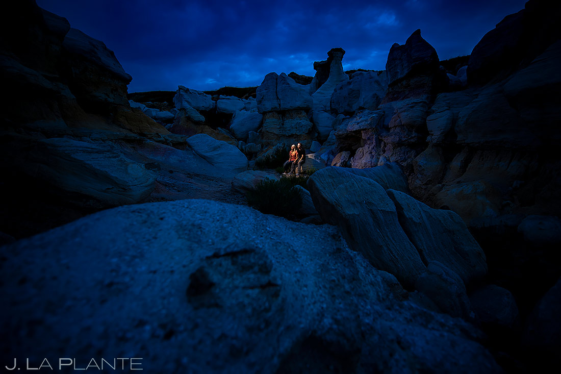 Unique Engagement Photo Ideas | Paint Mines Engagement Session | Colorado Springs Wedding Photographers | J. La Plante Photo