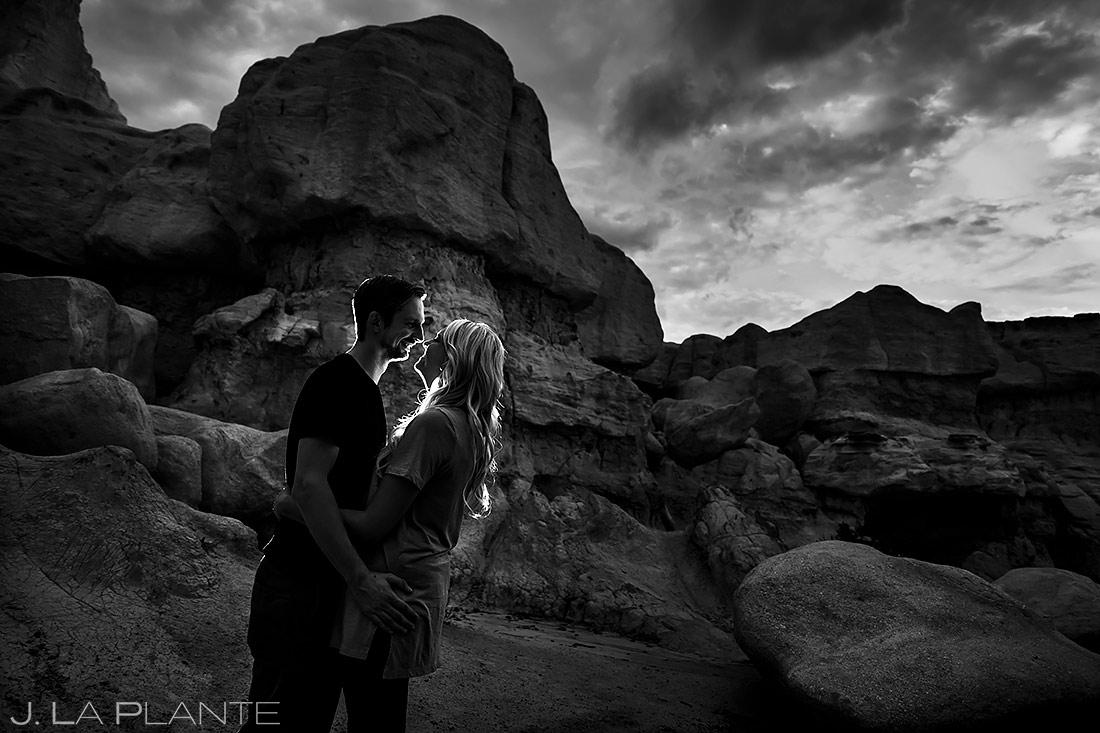 Unique Engagement Photo Ideas | Paint Mines Engagement Session | Colorado Springs Wedding Photographers | J. La Plante Photo