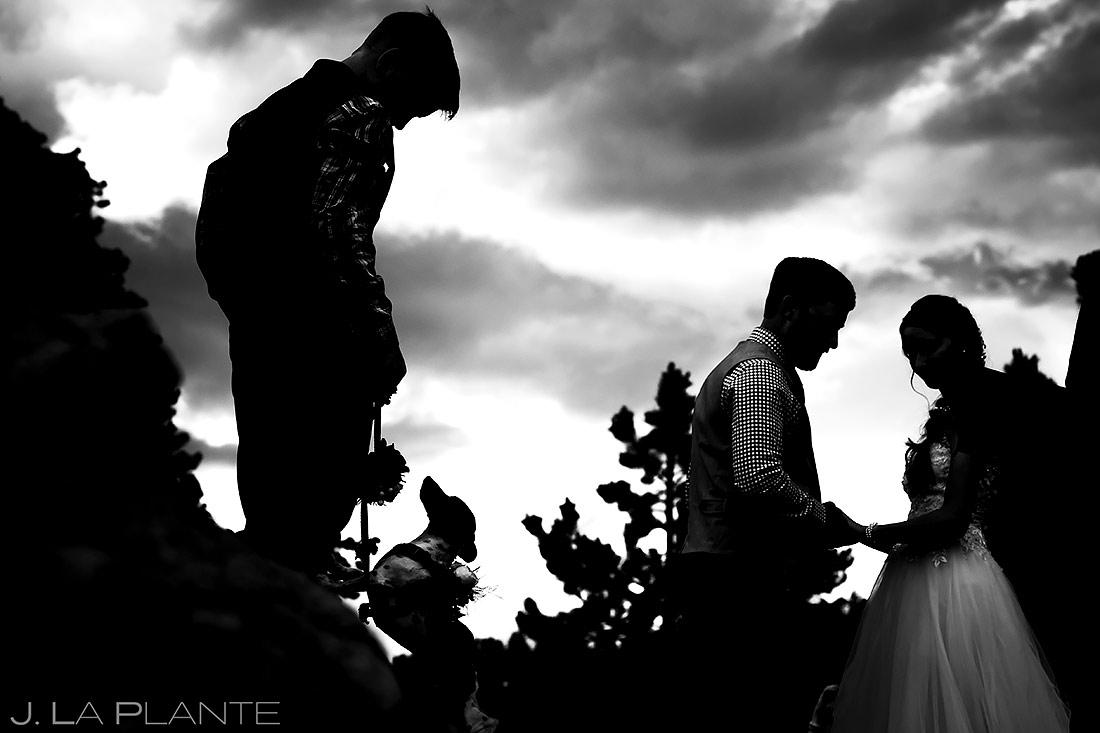Funny Wedding Dogs | 3M Curve Wedding | Rocky Mountain National Park Wedding Photographer | J. La Plante Photo