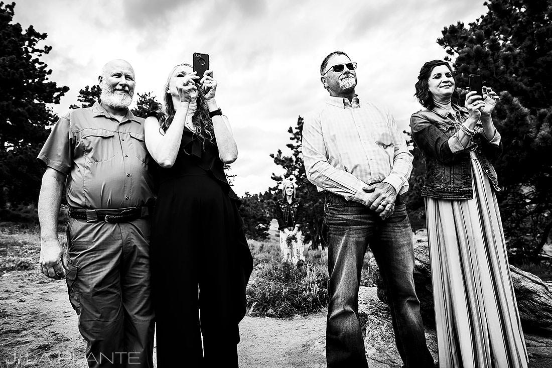 Mountain Wedding Ceremony | 3M Curve Wedding | Rocky Mountain National Park Wedding Photographer | J. La Plante Photo