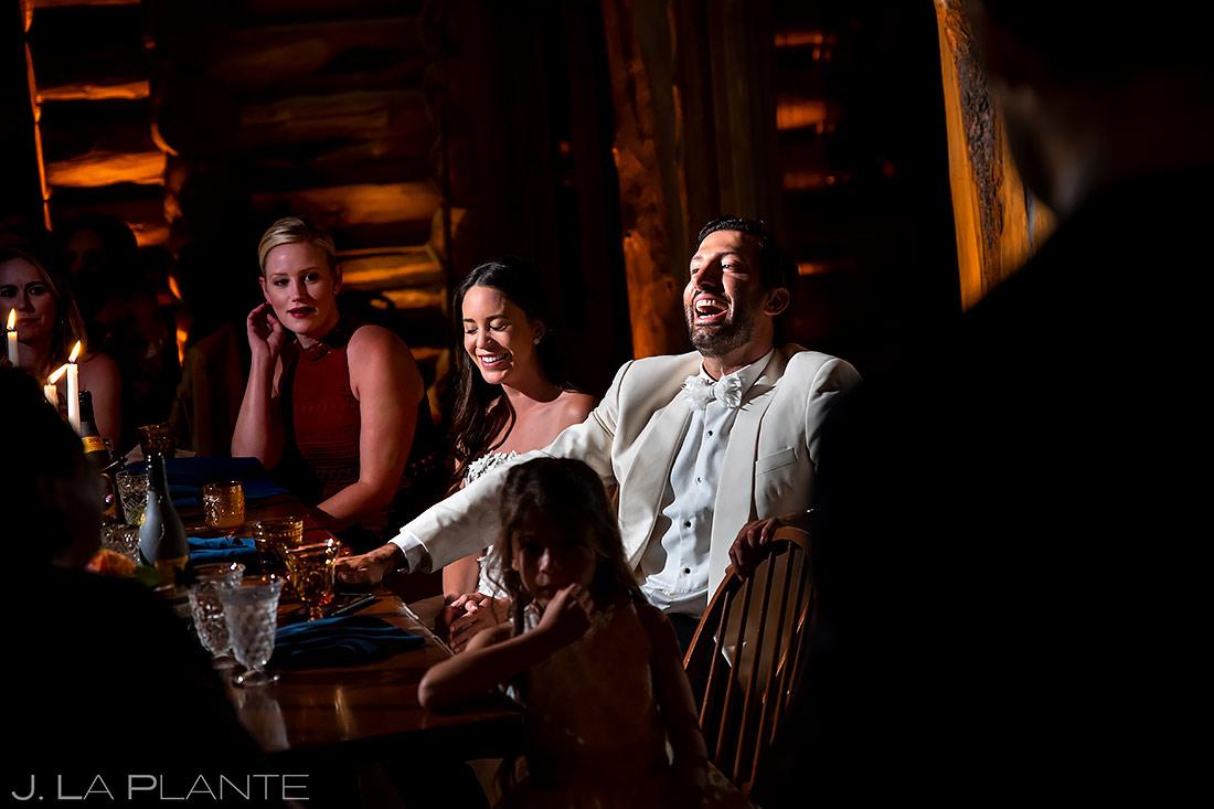 Wedding Toasts | Aspen Wedding | Aspen Wedding Photographer | J. La Plante Photo