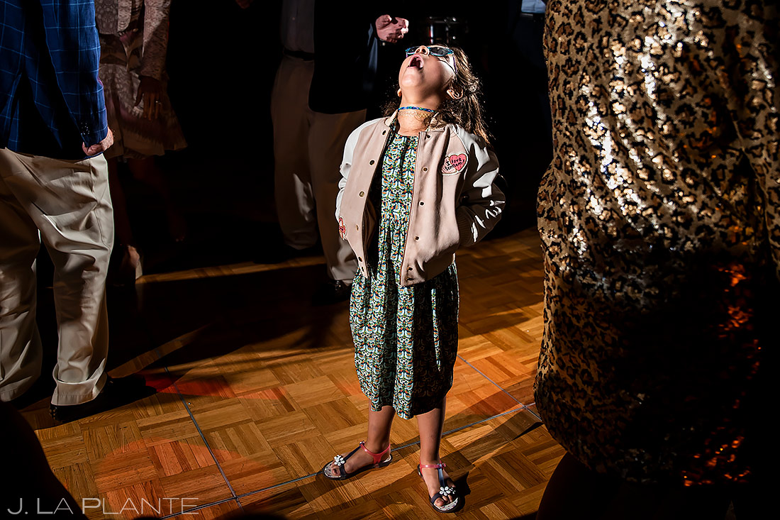 Funny Wedding Kids | Pine Creek Cookhouse Wedding | Aspen Wedding Photographer | J. La Plante Photo