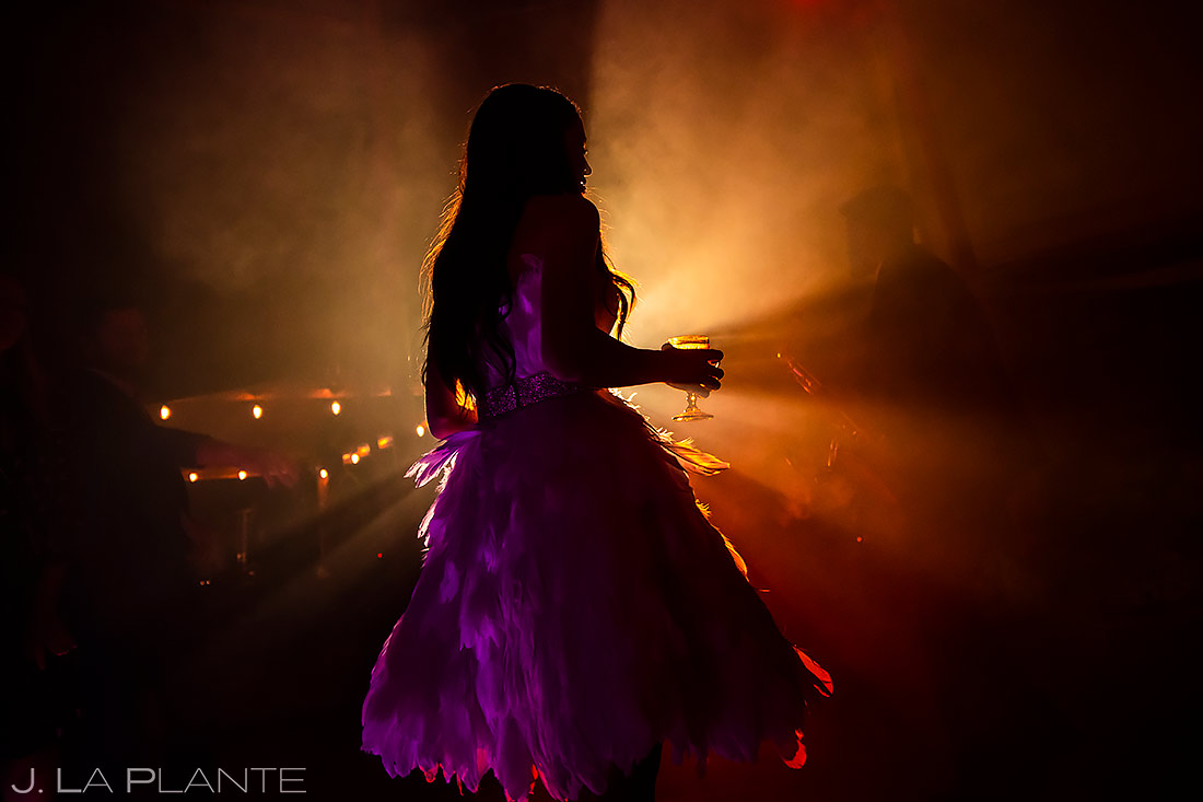 Bride Dancing | Aspen Wedding | Aspen Wedding Photographer | J. La Plante Photo