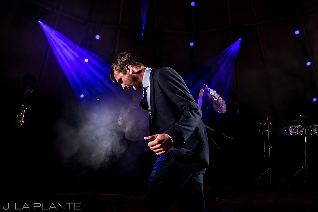 Wedding Reception Dance Party | Aspen Wedding | Aspen Wedding Photographer | J. La Plante Photo
