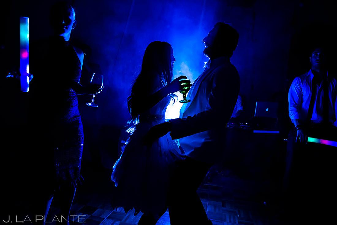 Bride and Groom Dancing | Aspen Wedding | Aspen Wedding Photographer | J. La Plante Photo