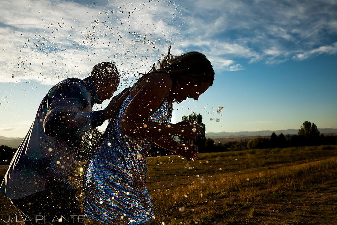 Water Balloon Engagement | Boulder Engagement | Boulder Wedding Photographer | J. La Plante Photo