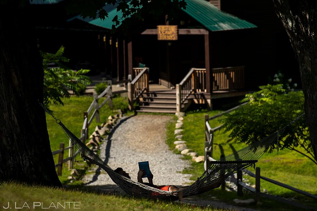 Wedding Hammock | Forest Lake Camp Wedding | Kick-ass Wedding Photographers | J. La Plante Photo