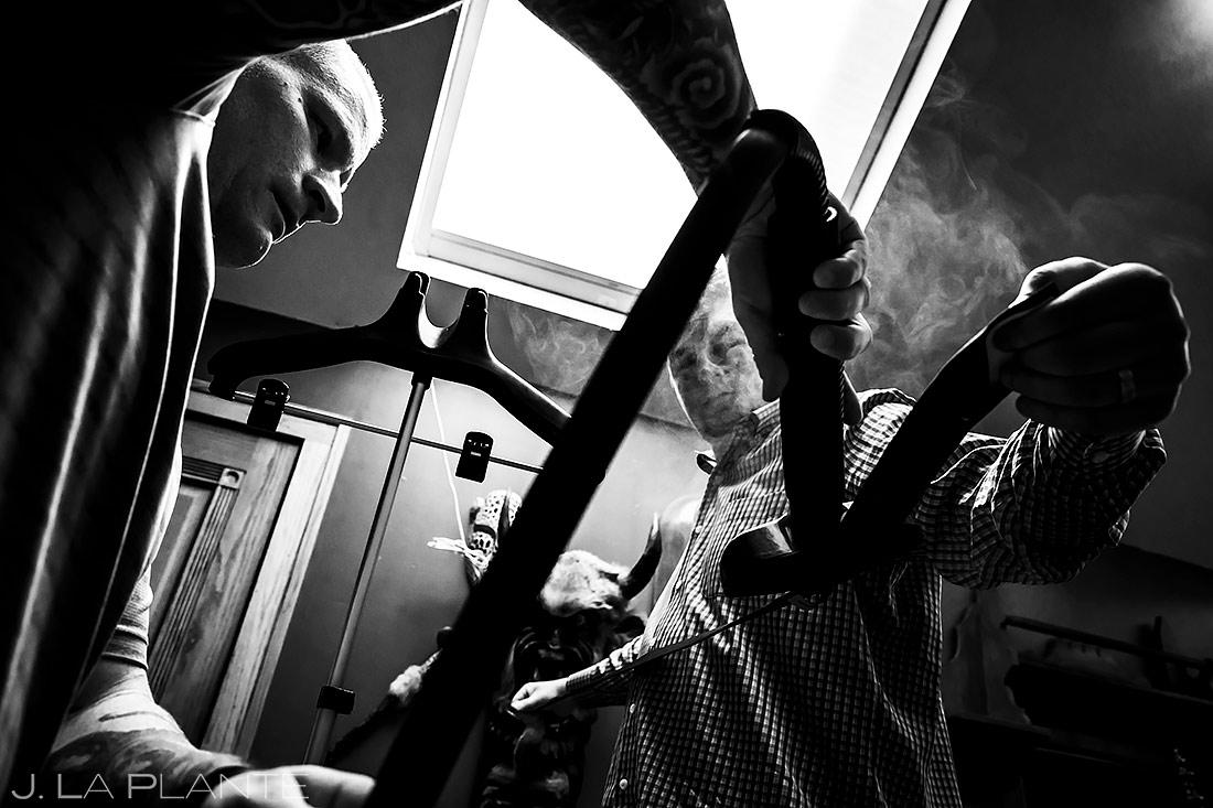 Groomsmen Getting Ready | Lionsgate Wedding | Boulder Wedding Photographer | J. La Plante Photo