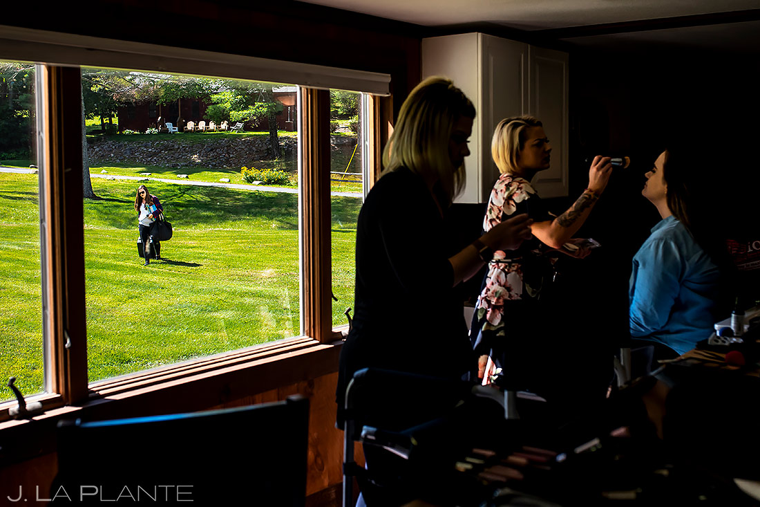 Bride Getting Ready | New York Destination Wedding | Destination Wedding Photographers | J. La Plante Photo