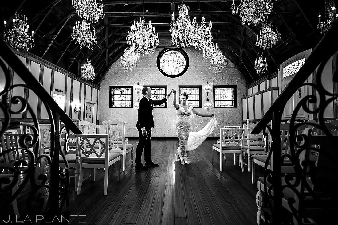Bride and Groom Dancing | Lionsgate Wedding | Boulder Wedding Photographer | J. La Plante Photo
