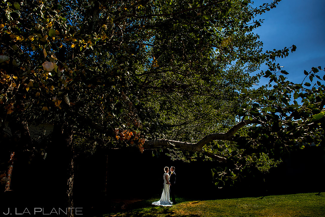 Unique Bride and Groom Photo | Lionsgate Wedding | Boulder Wedding Photographer | J. La Plante Photo