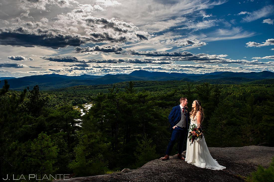 Cool Bride and Groom Portrait | New York Destination Wedding | Destination Wedding Photographers | J. La Plante Photo