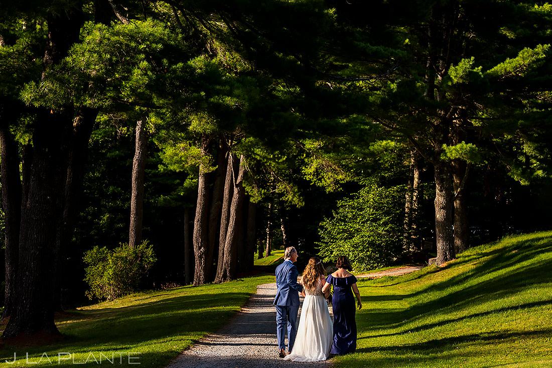 Outdoor Wedding Ceremony | Forest Lake Camp Wedding | Kick-ass Wedding Photographers | J. La Plante Photo