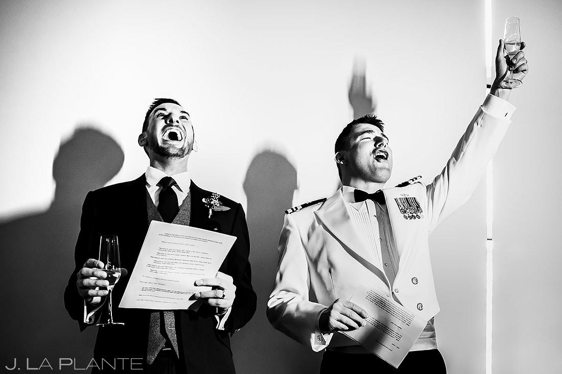 Wedding Toasts | Aspen Meadows Resort Wedding | Aspen Wedding Photographer | J. La Plante Photo