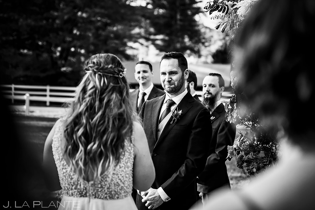 Outdoor Wedding Ceremony | New York Destination Wedding | Destination Wedding Photographers | J. La Plante Photo