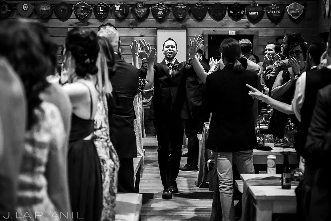Bride and Groom Entrance | New York Destination Wedding | Destination Wedding Photographers | J. La Plante Photo