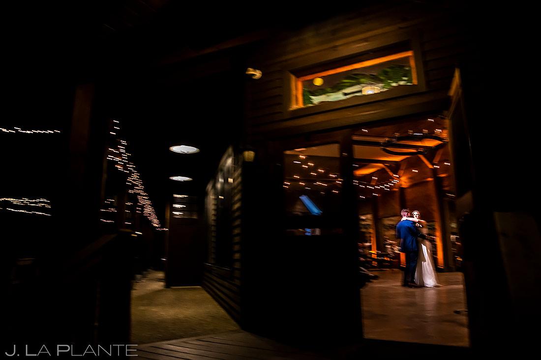 Bride and Groom First Dance | Forest Lake Camp Wedding | Kick-ass Wedding Photographers | J. La Plante Photo