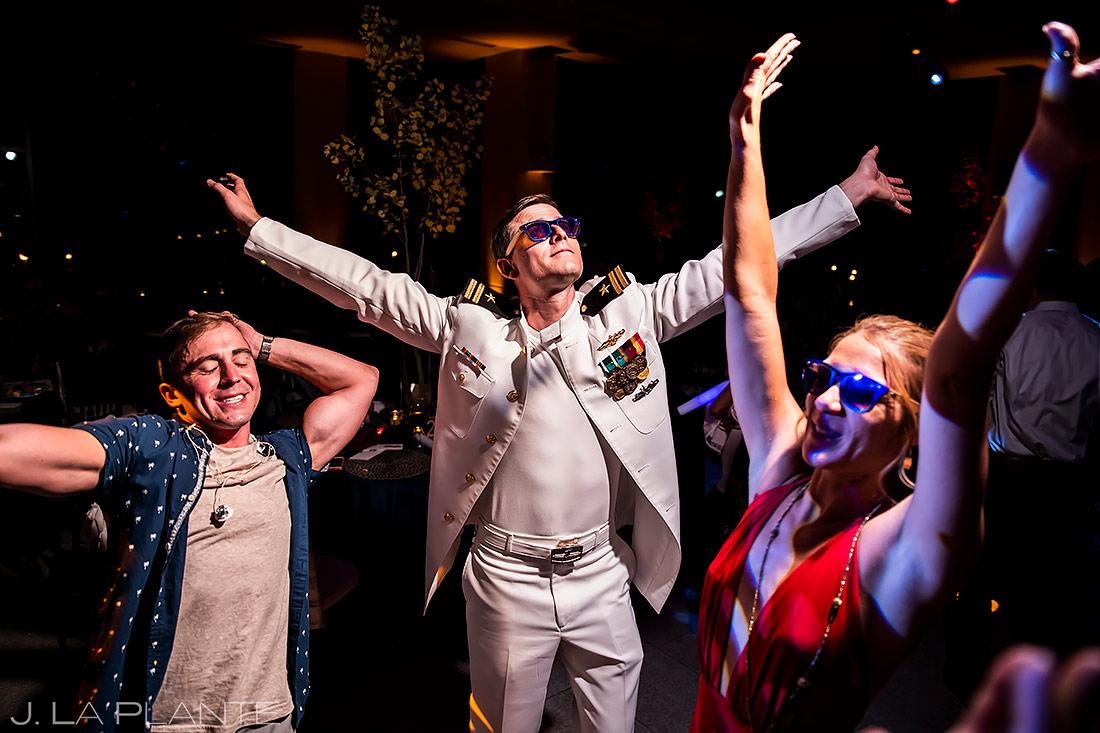 Wedding Dance Party | Aspen Meadows Resort Wedding | Aspen Wedding Photographer | J. La Plante Photo