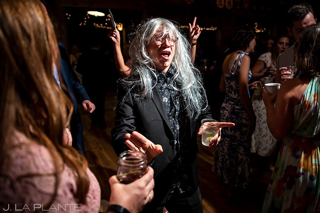 Wedding Reception Dance Party | Forest Lake Camp Wedding | Kick-ass Wedding Photographers | J. La Plante Photo