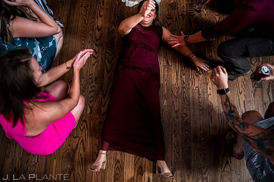 Bridesmaid Cutting a Rug | Boulder Photographer | J. La Plante Photo