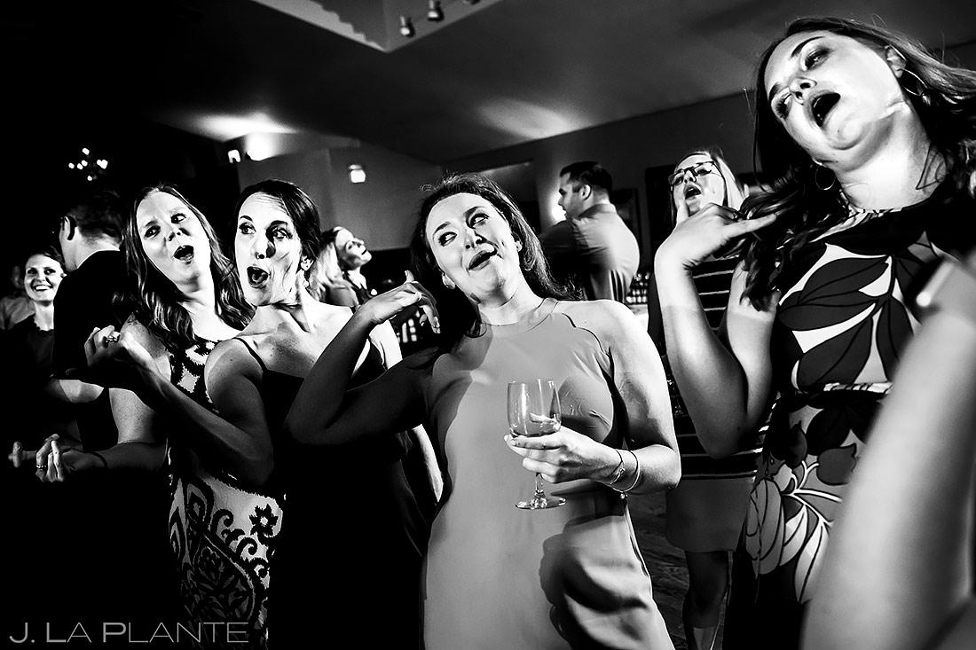 Bridesmaids Dancing | Boulder Photographer | J. La Plante Photo