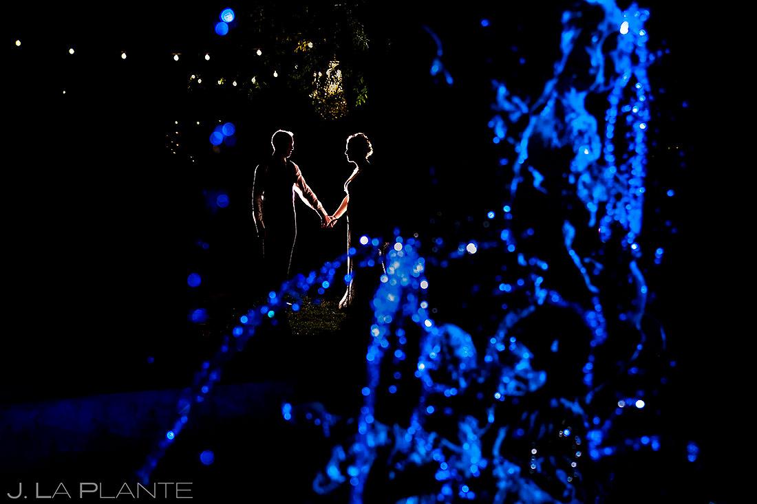 Nighttime Wedding Photo | Lionsgate Wedding | Boulder Wedding Photographer | J. La Plante Photo