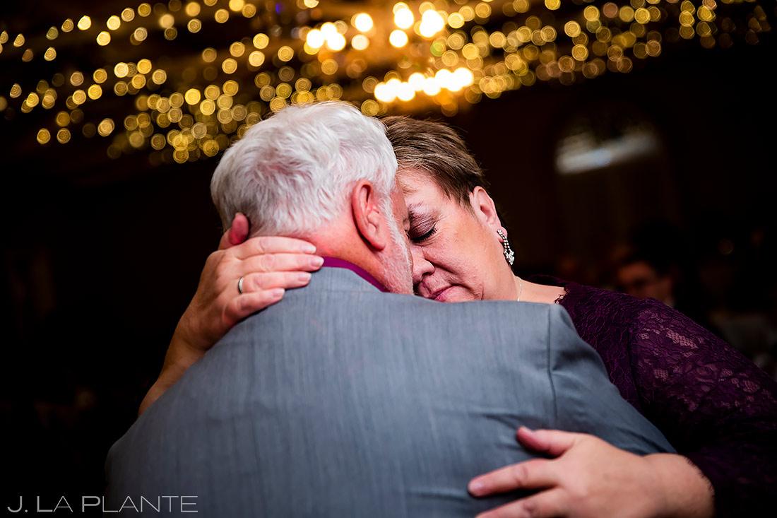 anniversary dance during wedding reception | Fort Collins wedding photographer | J. La Plante Photo