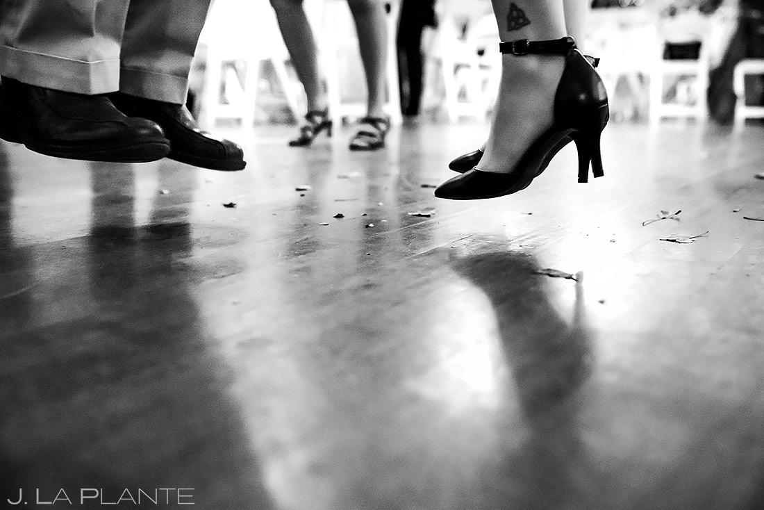 wedding reception dance party | Fort Collins wedding photographer | J. La Plante Photo