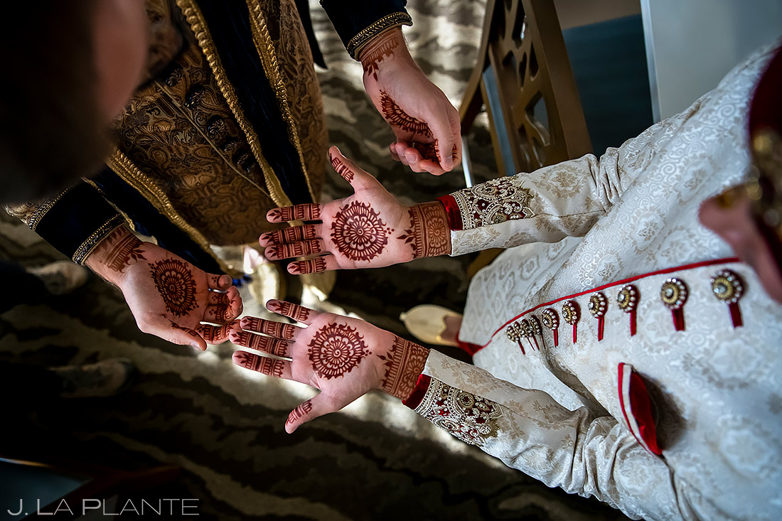 Henna designs | Inverness Hotel Wedding | Denver Indian Wedding Photographer | J. La Plante Photo