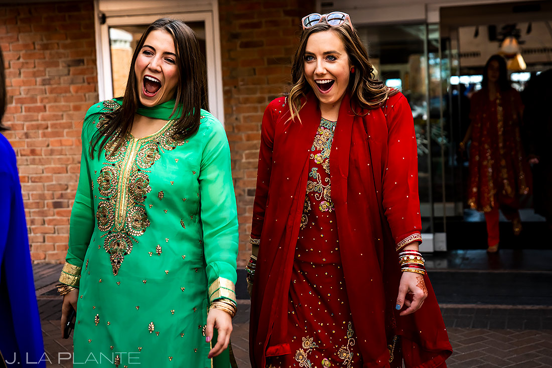 Indian wedding guests | Inverness Hotel Wedding | Denver Indian Wedding Photographer | J. La Plante Photo
