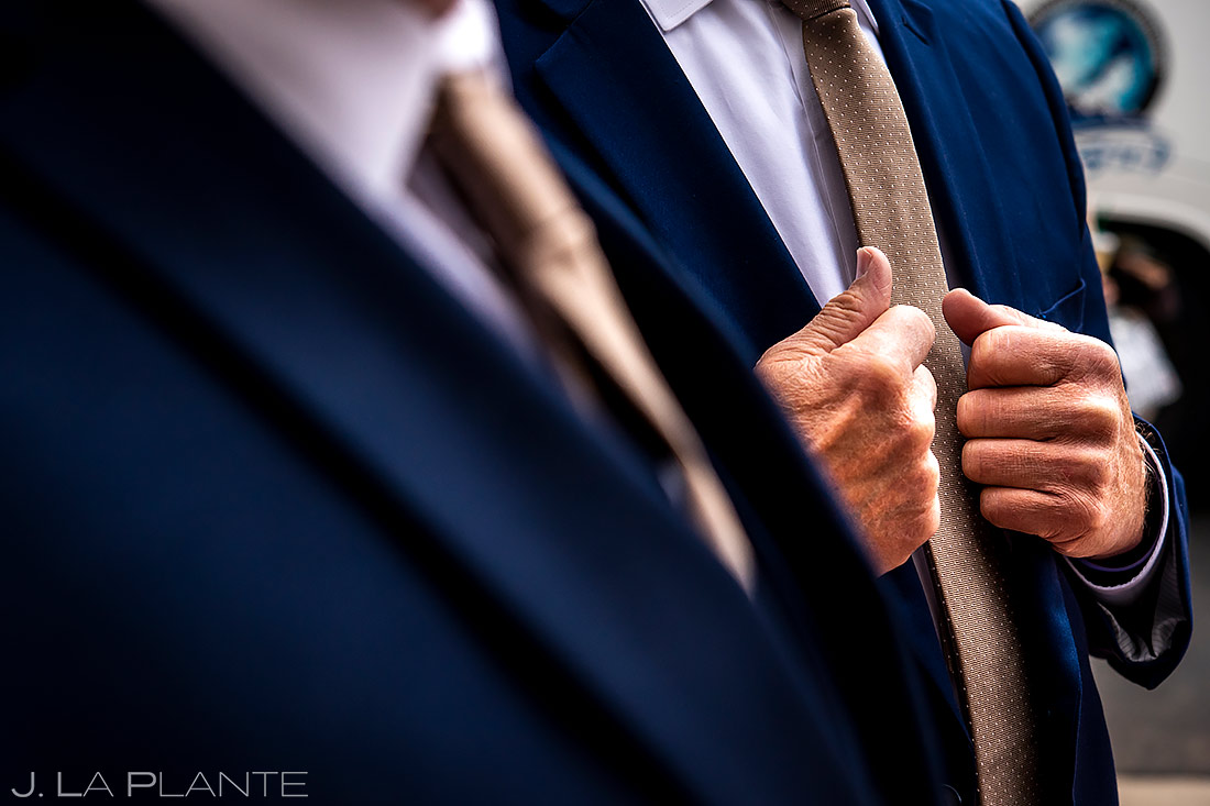 Wedding Attire | Sanctuary Golf Course Wedding | Denver Wedding Photographer | J. La Plante Photo