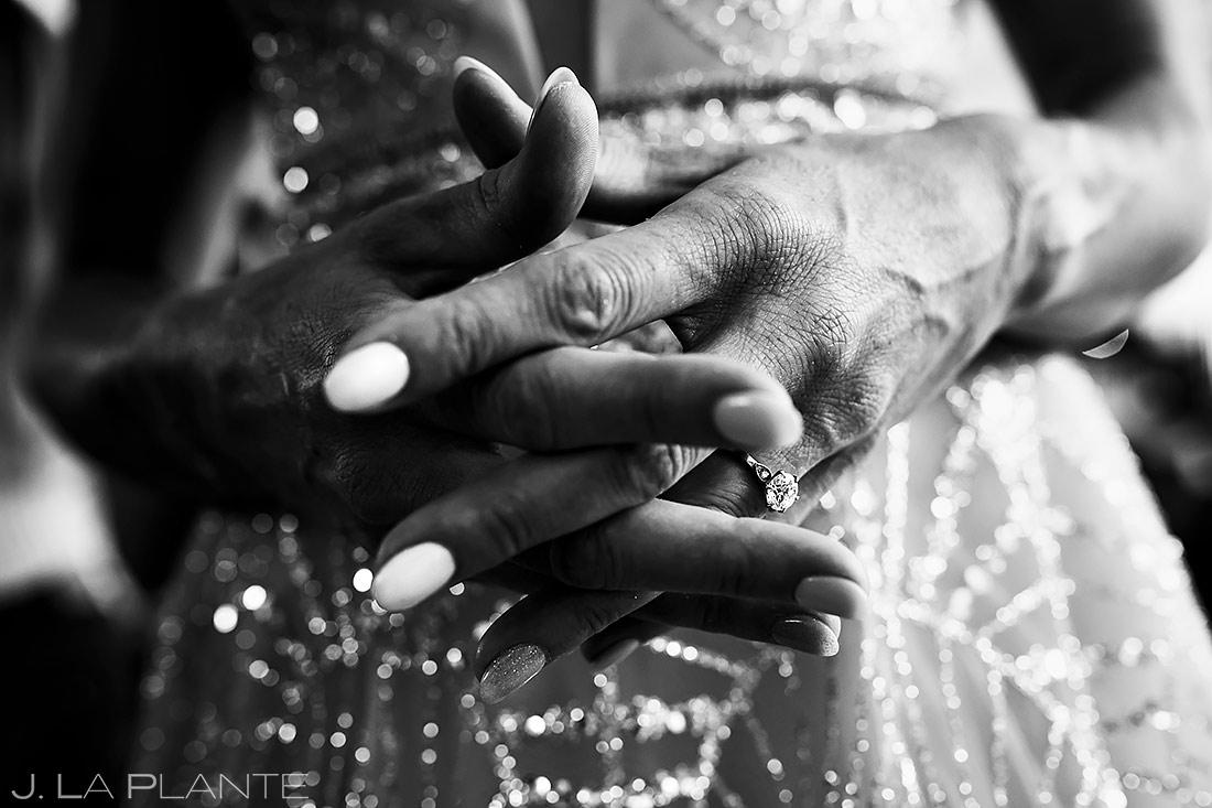 Engagement ring | Downtown Denver Wedding | Denver Wedding Photographer | J. La Plante Photo