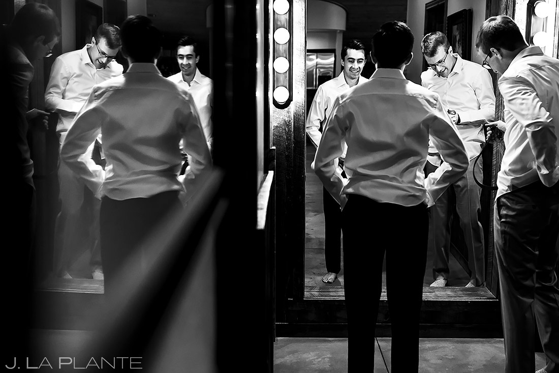 Grooms getting ready | Larkspur Wedding | Denver Indian Wedding Photographer | J. La Plante Photo