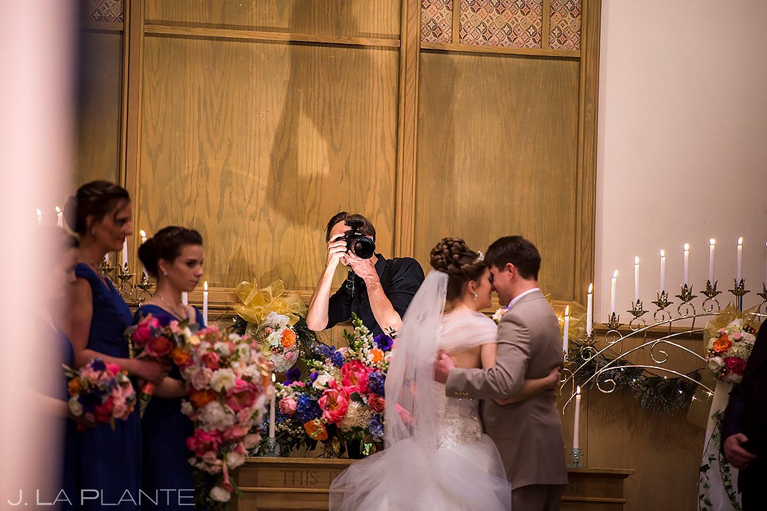 Wedding Photographers at Work | Downtown Denver Wedding | Denver Wedding Photographer | J. La Plante Photo