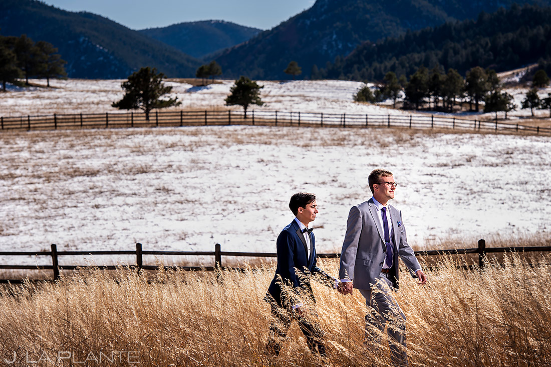 Same sex wedding | Larkspur Wedding | Denver Indian Wedding Photographer | J. La Plante Photo