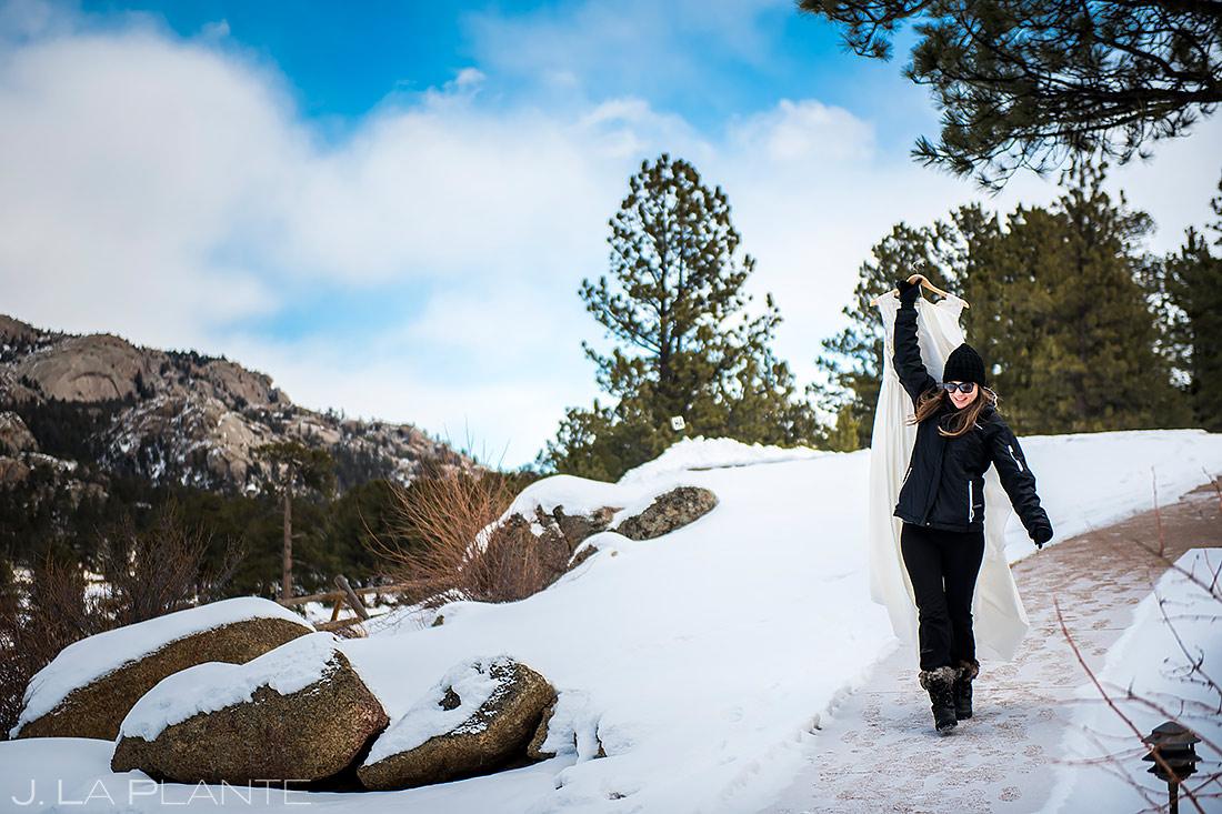 Black Canyon Inn Wedding | Estes Park Wedding Photographer | J. La Plante Photo
