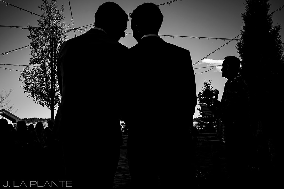 Wedding ceremony | Larkspur Wedding | Denver Indian Wedding Photographer | J. La Plante Photo